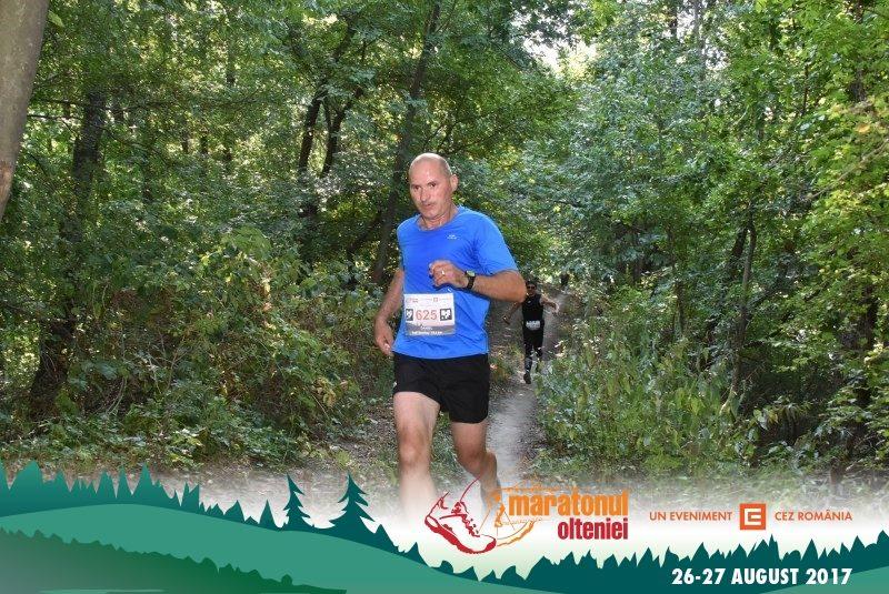 Daniel Trusca a alergat