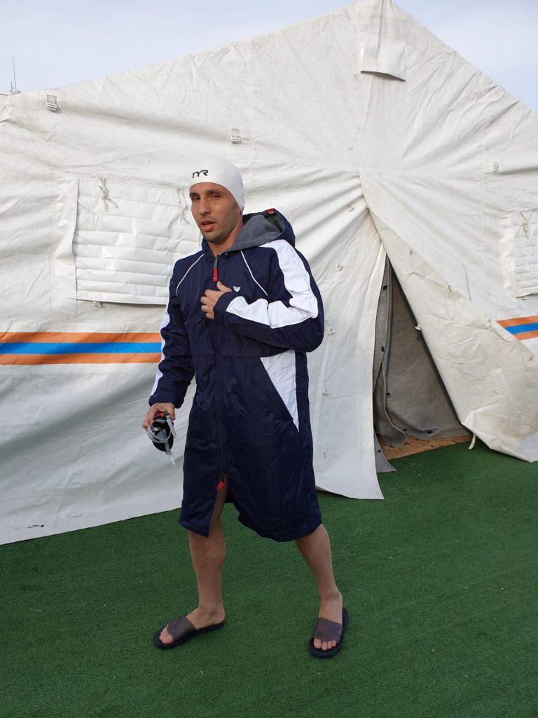 Paul Georgescu va inota in Antarctica