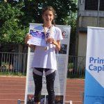 Alina Valentina Barbu este campioana la atletism. Paul Georgescu a descoperit-o!