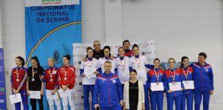 Steaua a castigat titlul national la spada feminin la echipe! Reactiile campioanelor!