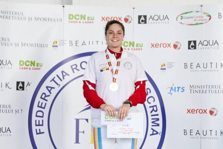 Amalia Tataran vrea al doilea titlu national castigat in zile consecutive la spada!