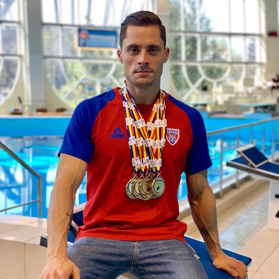 Constantin Popovici aduna medalii la sarituri in apa! Aflati programul campionului