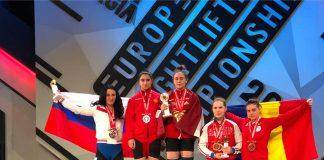Sorina Hulpan obtine medalia de bronz la Campionatele Europene de Haltere!