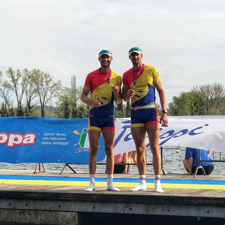 8 victorii la canotaj pentru Romania in Italia! Aflati cine s-a impus