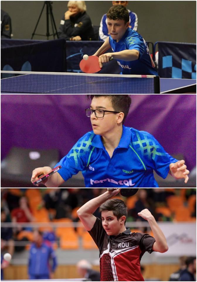 Medalii pentru Romania la Openul Frantei la tenis de masa! Juniorii sunt pe podium