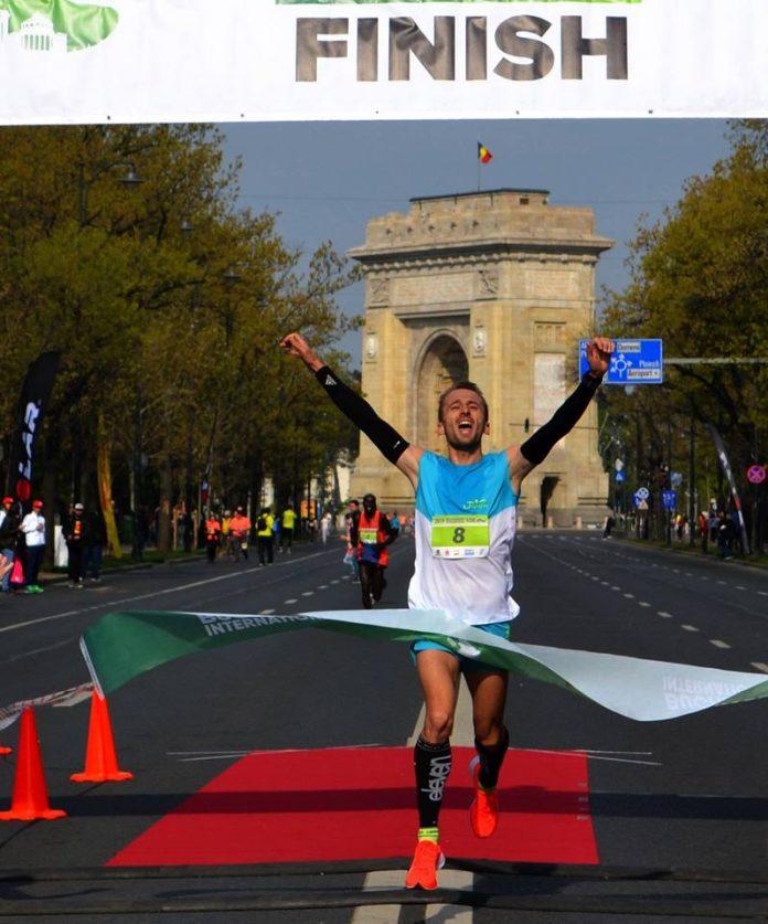 Nicolae Soare e campion national 10k! Declaratie la finshul cursei din Bucuresti