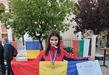 Diana Lătărețu e craioveanca de bronz a Romaniei la Balcaniada de Mars