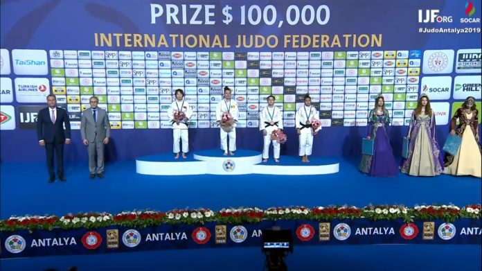 Andreea Chitu a castigat medalia de aur la Grand Prix-ul de Judo din Antalya!