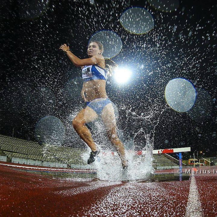 Claudia Prisecaru este pregatita pentru noi timpi de barem european la atletism