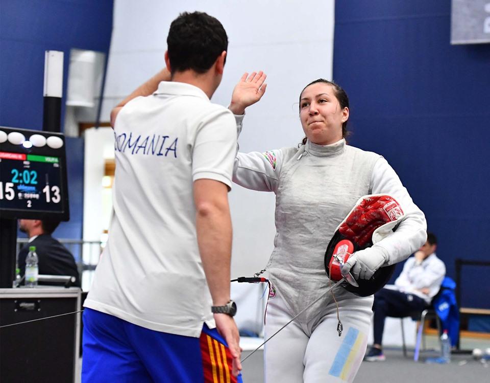 Floretista Malina Calugareanu a castigat titlul national la individual. Declaratia ei: