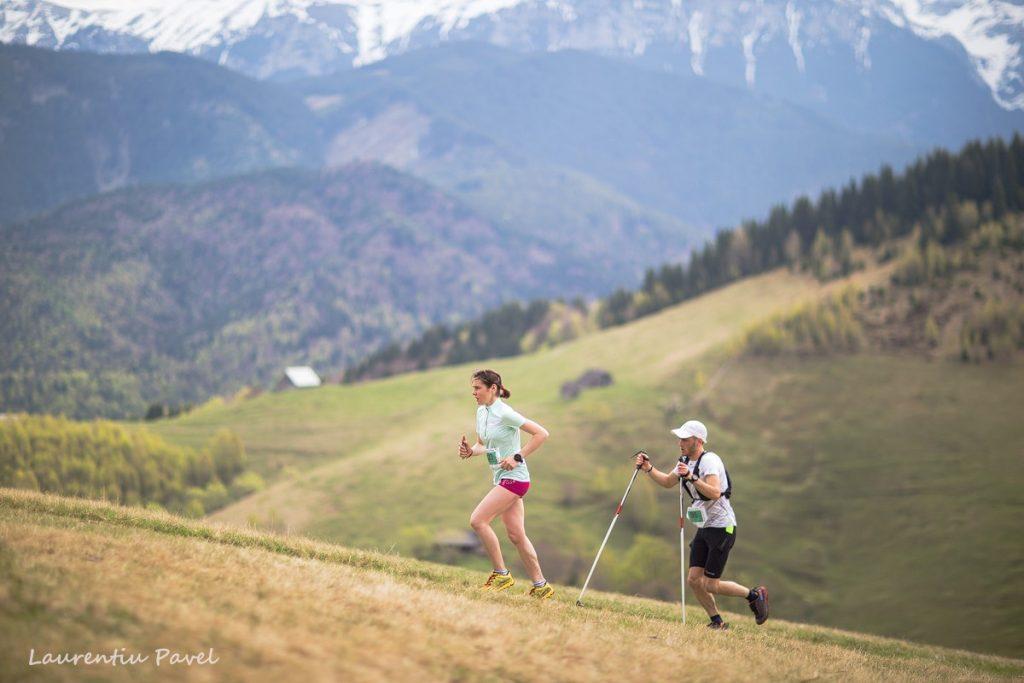 Andreea Piscu, alergarea montana