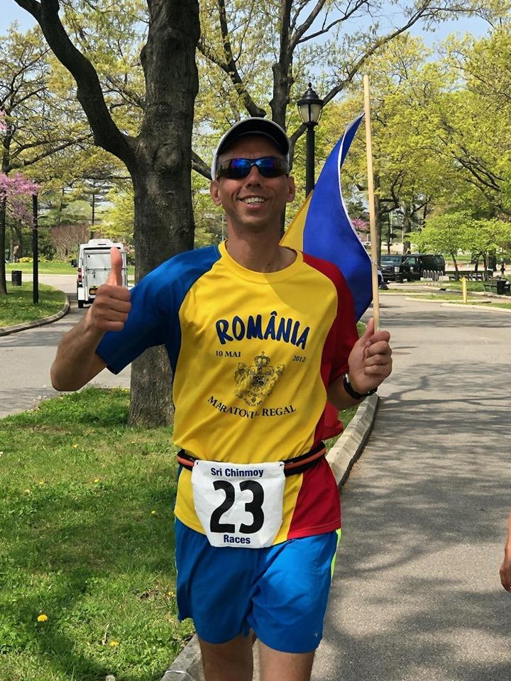 ultramaratonistul Adrian Papuc