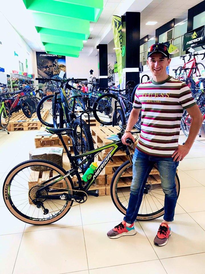 Raul Sinza concureaza sambata la Campulung, la Cupa Nationala de XCO!