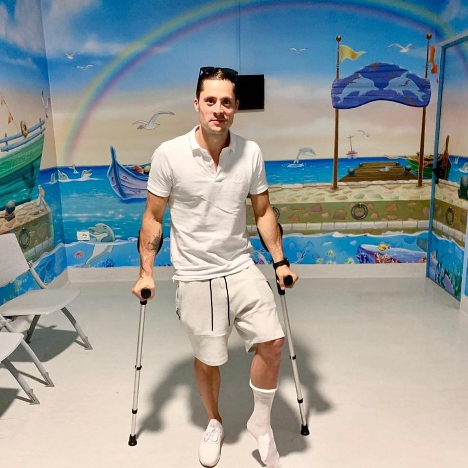 Saritorul Constantin Popovici s-a accidentat! 4 oase fracturate! Ce s-a intamplat