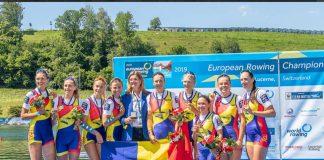 Campioanele europene la canotaj vorbesc dupa succesul de la Lucerna