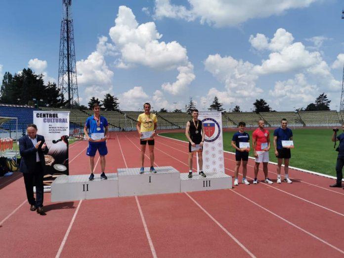 Nicolae Balan si-a aparat titlul la Campionatul National de Atletism si Cross al MAI!