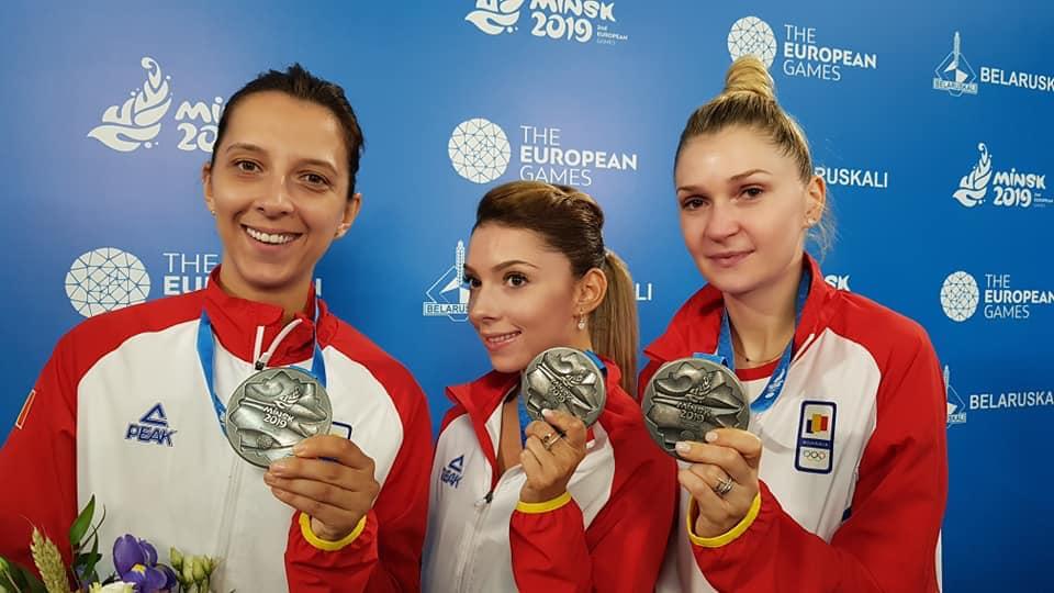 Medalii pentru Romania in weekend la Jocurile Europene din Belarus