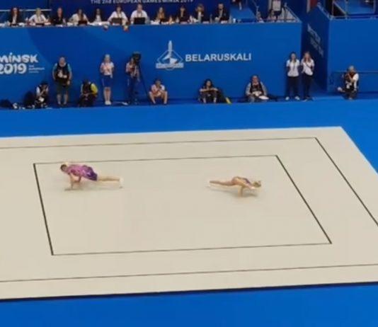 5 medalii pentru Romania la Jocurile Europene! Gimnastii de la aerobic au argint!
