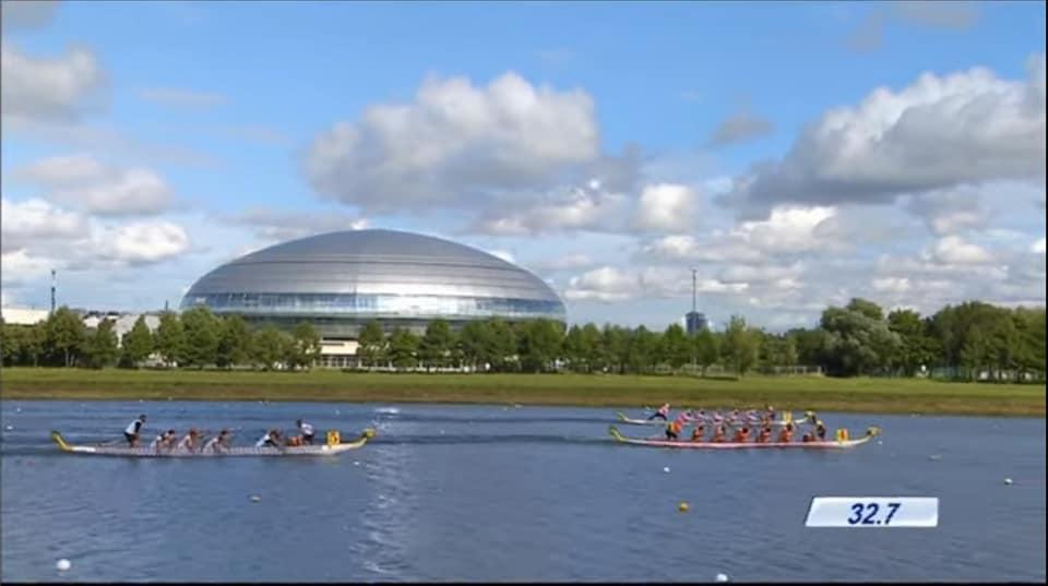 Dragon Boat sport cu medalii europene pentru Romania. Ionut Peleu e campion!