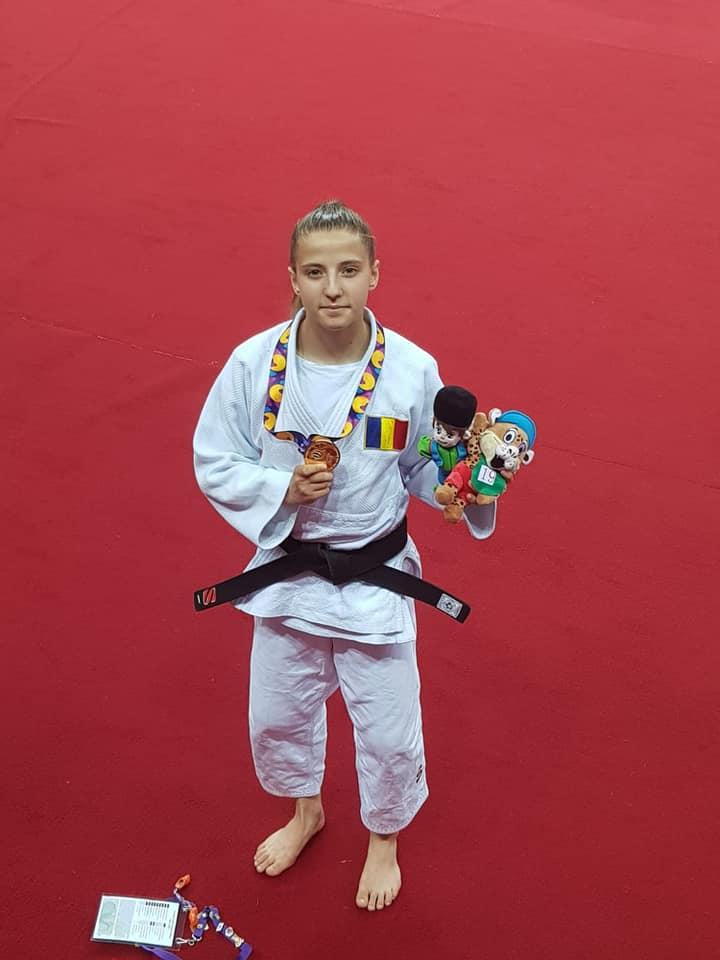 Giorgia Hagianu a castigat medalia de aur la Judo. Vesti despre tricolori de la Baku
