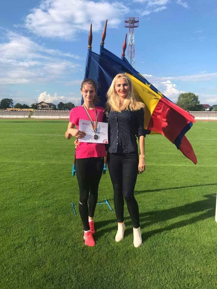 Talida Sfarghiu concureaza marti la Nationalele de atletism dupa FOTE