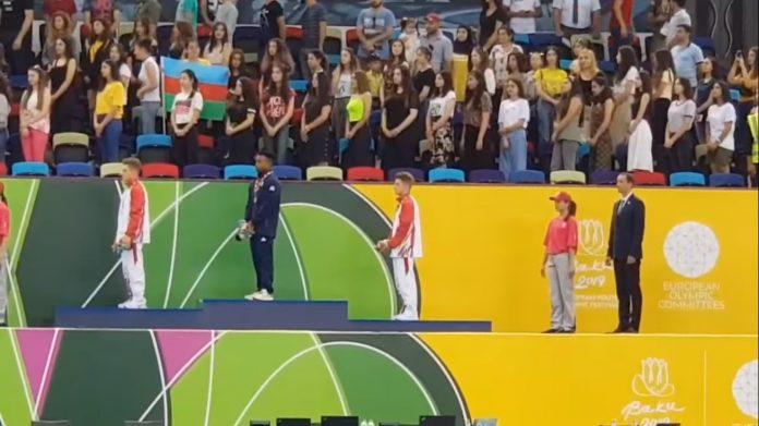 Trei medalii la gimnastica plus argint la atletism si la volei sambata la Baku