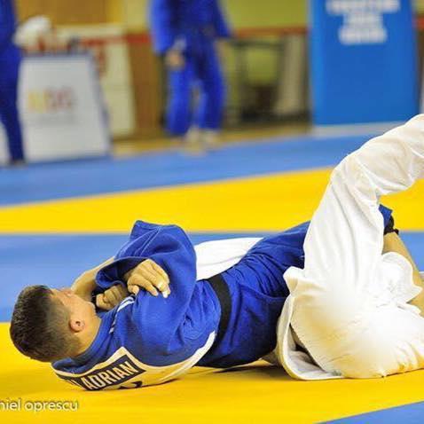 Adrian Olaru a inceput judo in Italia si cucereste medalii pentru Romania