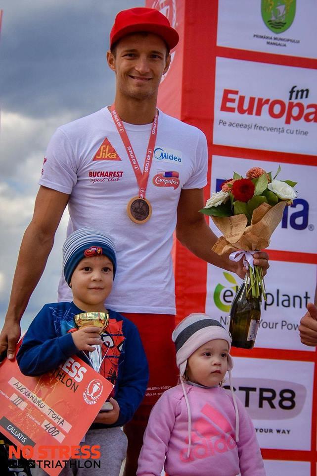 Alex Toma e setat pe Campionatul Mondial de Ironman 70.3 de la Nisa!