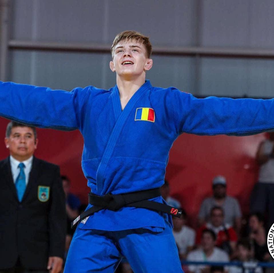 Adrian Sulca s-a impus la Cluj la Cupa Europei de Judo pentru nivelul sub 21 de ani