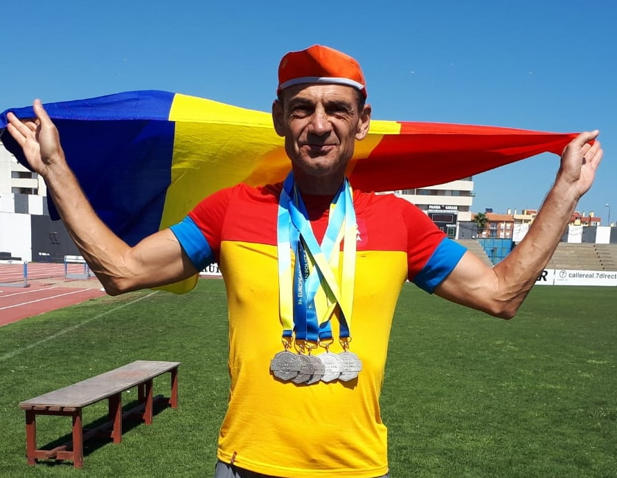 Romascanu este campion mondial la atletism. Performeri la jocurile din China