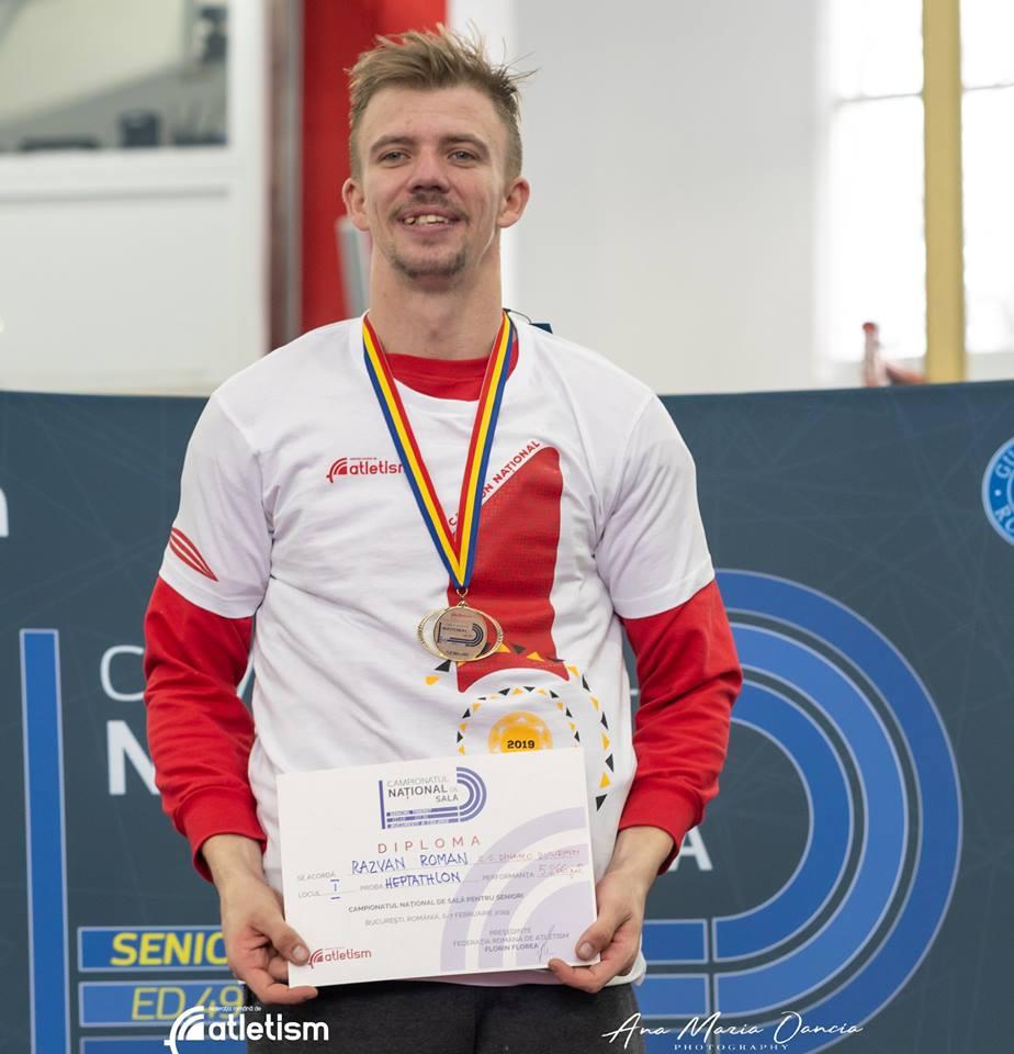 Razvan Roman e campionul national la Decathlon. O poveste de succes