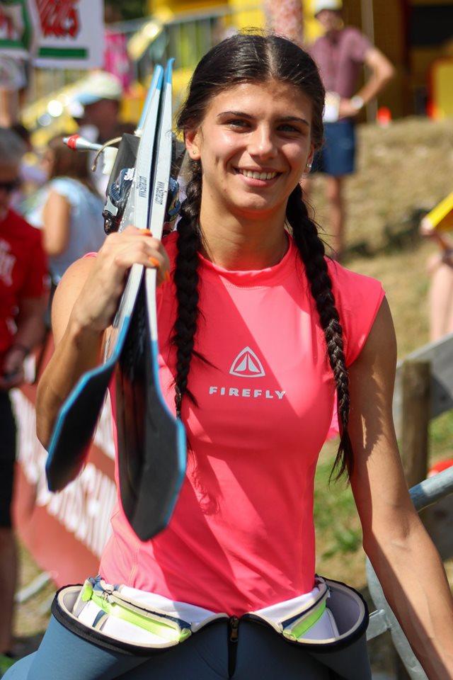 Daniela Haralambie sare cu schiurile pentru top 10 mondial