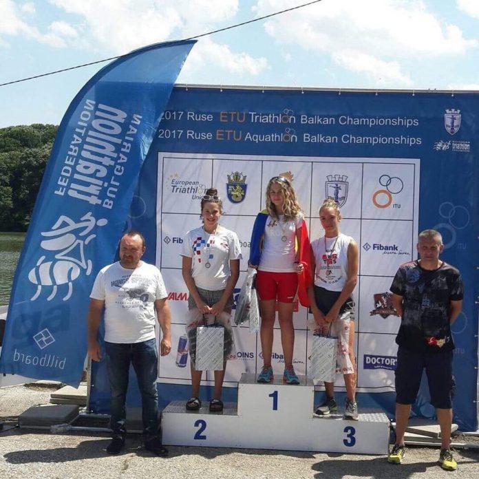 Andreea Iordache se pregateste de Cupa Europeana de Triatlon