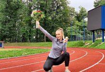 Cea mai rapida romanca Marina Baboi castiga la 150 metri in Cehia!