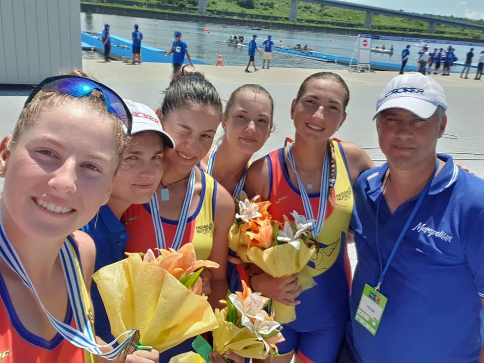 Finalul Mondialelor de Canotaj la Tokyo. Medaliile Romaniei la juniori
