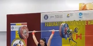 Maria Grigoriu face recorduri la Haltere! Aflati cate kilograme ridica