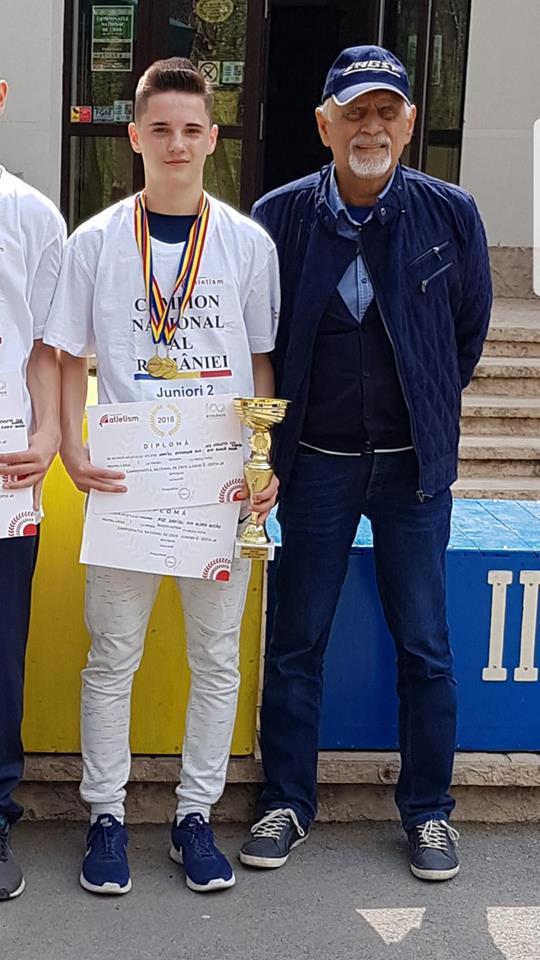 Daniel Rus este castigatorul la juniori la alergare montana pe distanta scurta