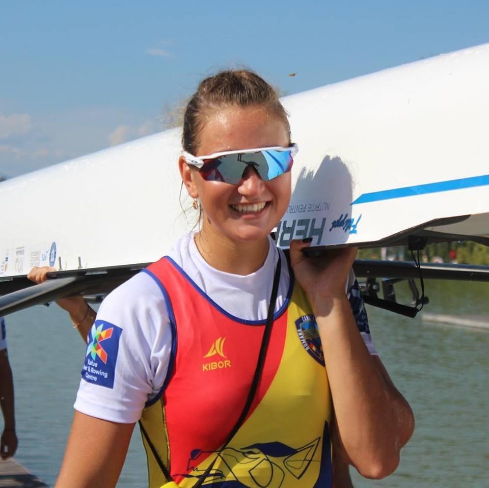 Simona Radis povesteste cum a castigat medalia de la Mondialul de Canotaj