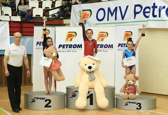 Luiza Popa contribuie la triumful echipei Farul Constanta la gimnastica