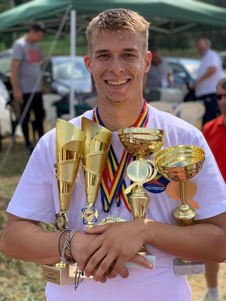 Mihai Pacioianu a castigat Cupa! El a debutat in 2019 in Cupa Mondiala de skeleton.