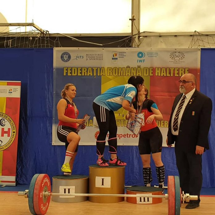 Maria Grigoriu castiga trei medalii de aur la haltere inainte de Europene