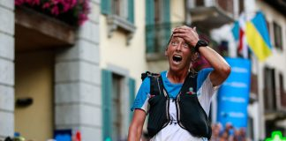 Courtney Dauwalter, la linia de finish de la UTMB