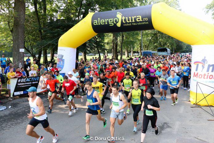 Pe-un picior de plai, alergare la Pădurea Verde din Timișoara