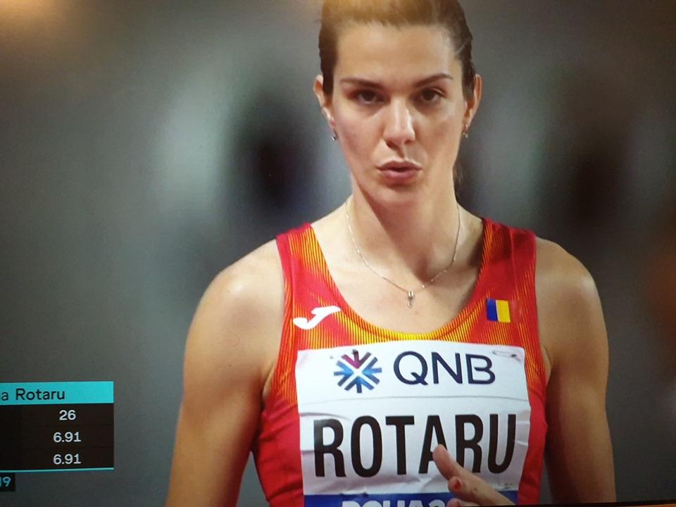 Ultimele rezultate de la Doha. Alina Rotaru e pe 6 la Mondialele de Atletism