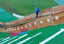 Campionii de la Rasnov! Sarituri cu schiurile de pe trambulina