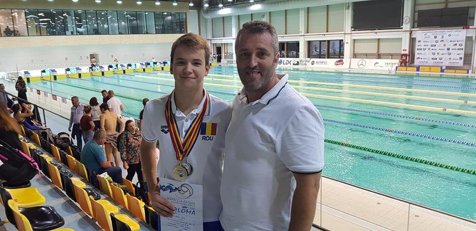 Mihai Iacob face record national la inot, la Cupa Romaniei de la Brasov