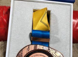 Stefan Coman lupta si castiga medalia de bronz la ANOC World Beach Games