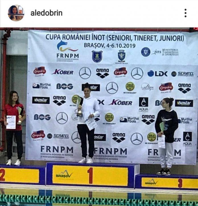 Cele mai bune rezultate pentru inotatoare la Cupa Romaniei de la Brasov