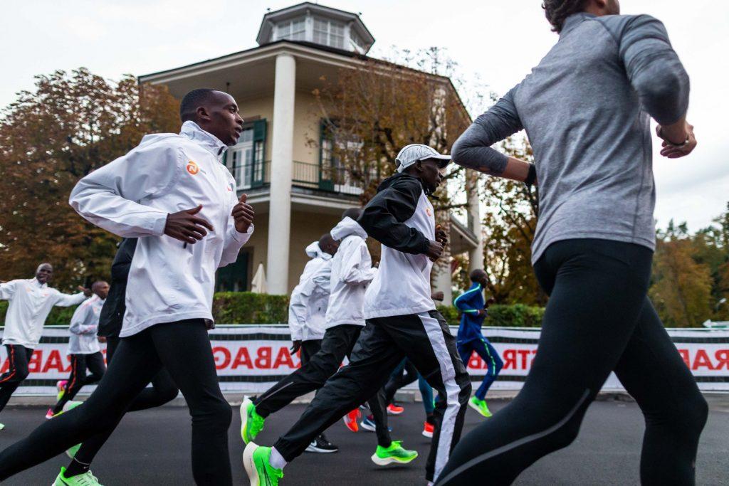 Eliud Kipchoge maraton