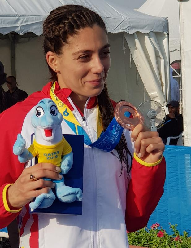 Triatlonista Antoanela Manac a reprezentat Romania la ITU Triathlon World Cup